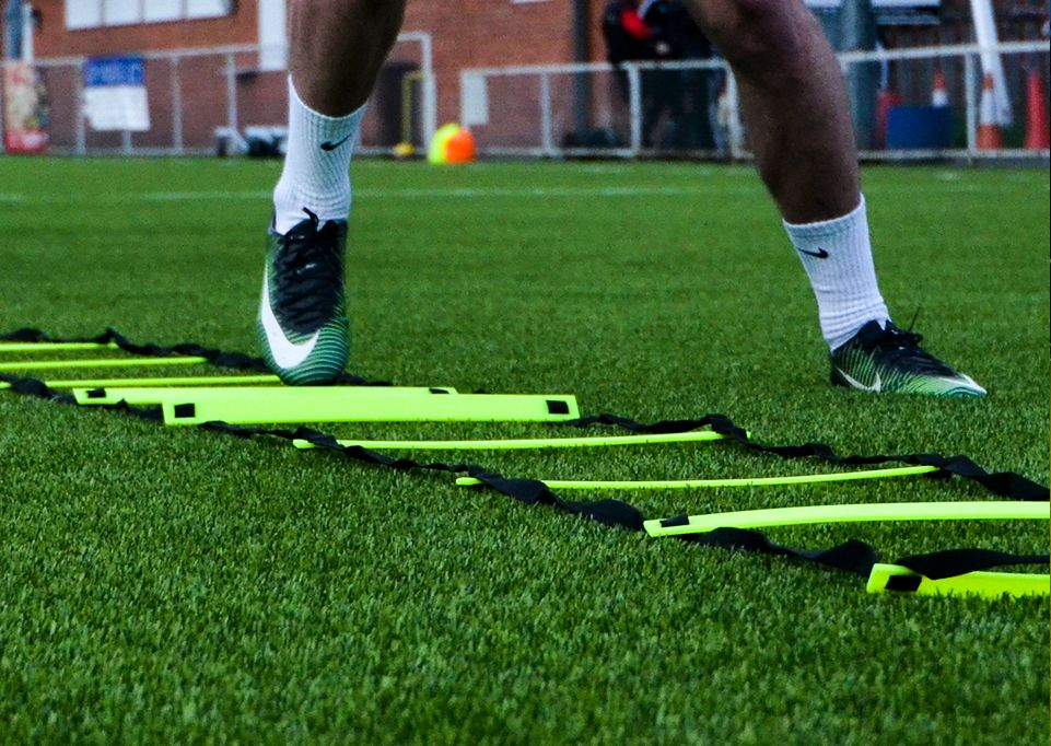 soccer goals and equipment for the individual