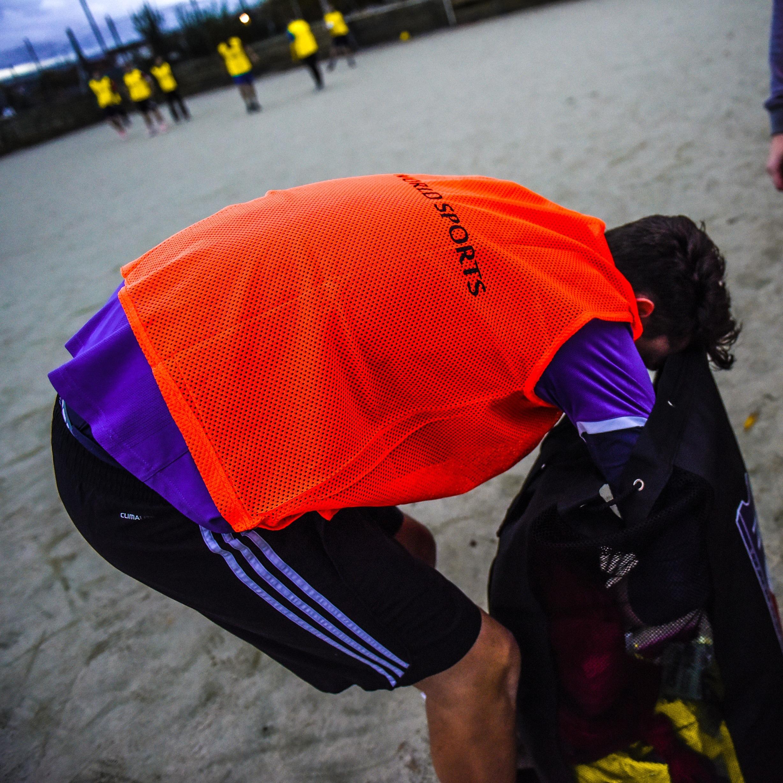 Orange FORZA training bibs