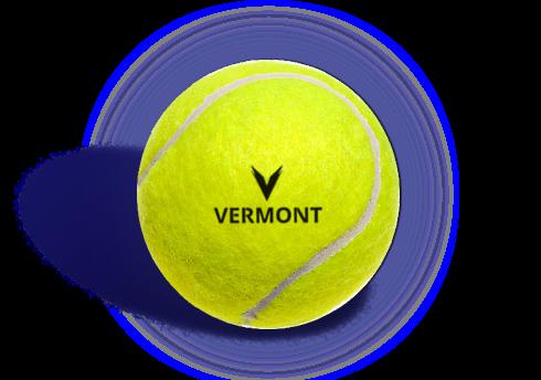 Vermont tennis ball